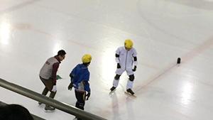 「2015冬季地区大会ショート<br>トラックスピードスケート」<br>競技ボランティア